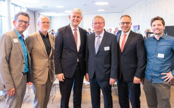 Staatssekretär Christoph Dammermann zu Besuch in Gescher
