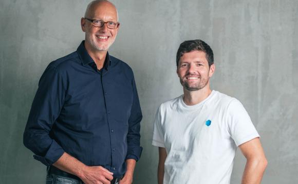 Alter und neuer Vorstand Matthias Günnewig und Sebastian Köffer (v.l.)